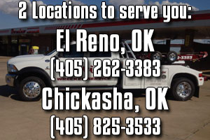Cavin Wrecker Service - Towing and accident recovery services in El Reno, OK